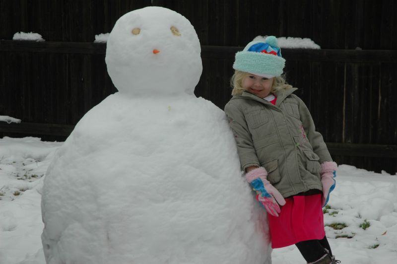 Snowman perfection