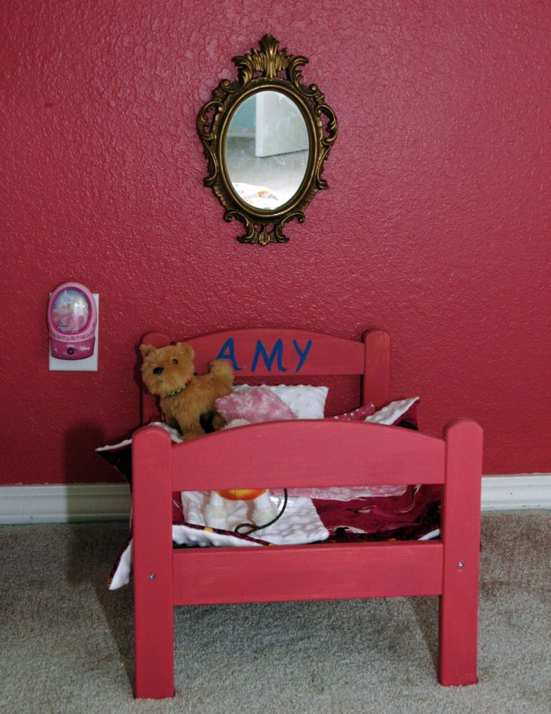 Amys bed