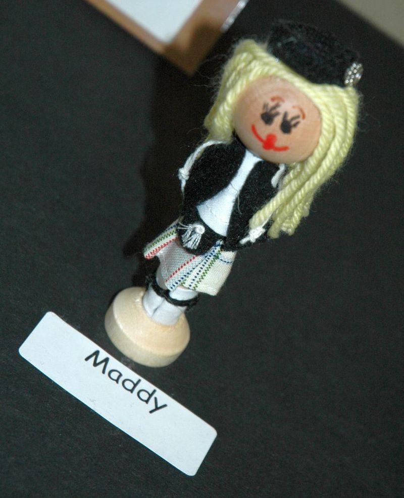 Pilgrim doll