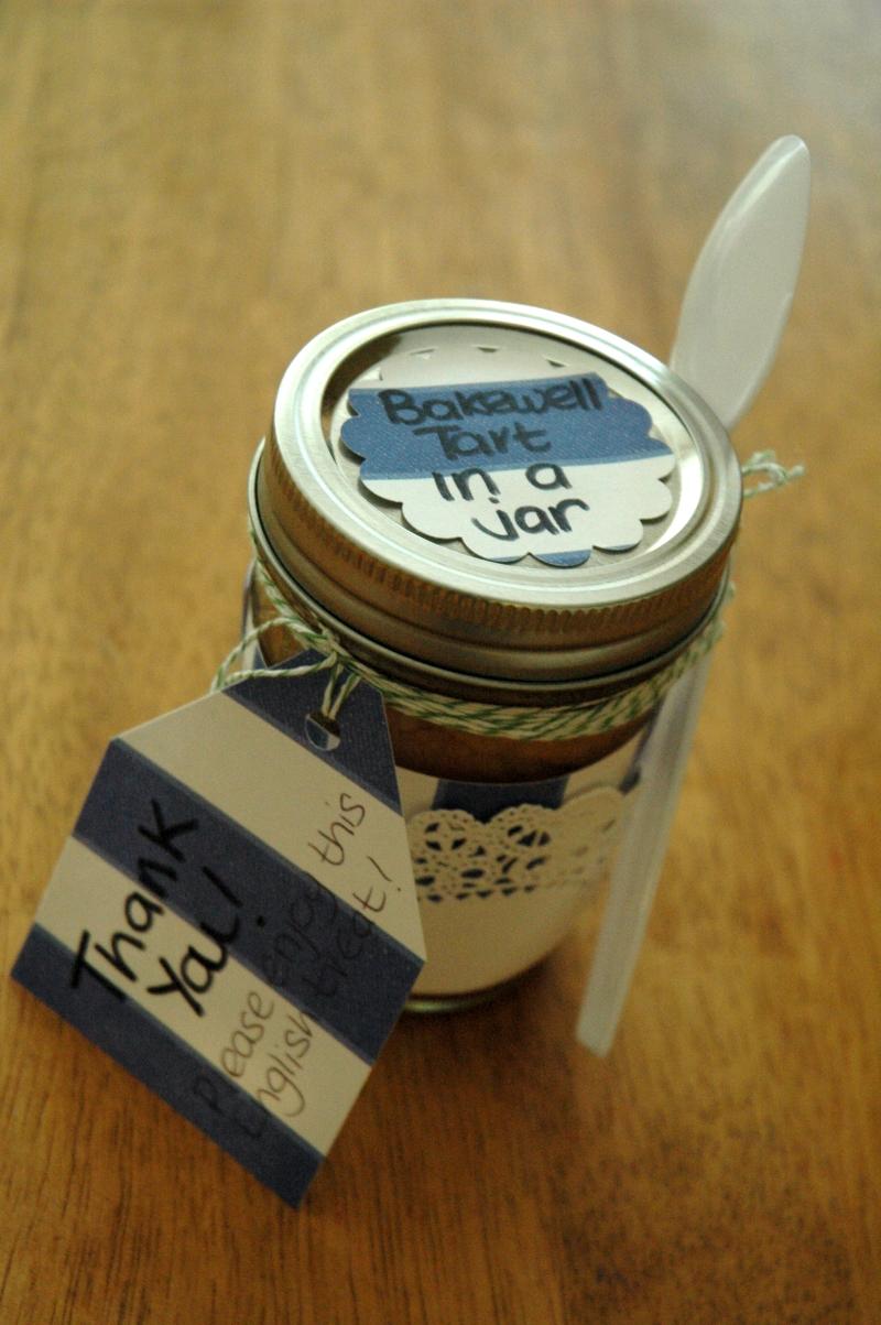 Tart in a jar