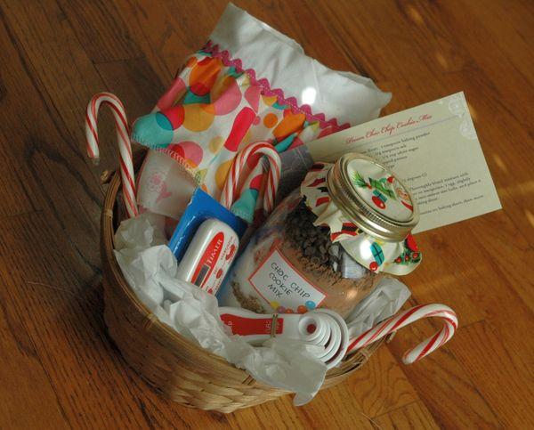 Handmade Christmas Gift Basket Ideas : Bubbachic homemade christmas gift baskets