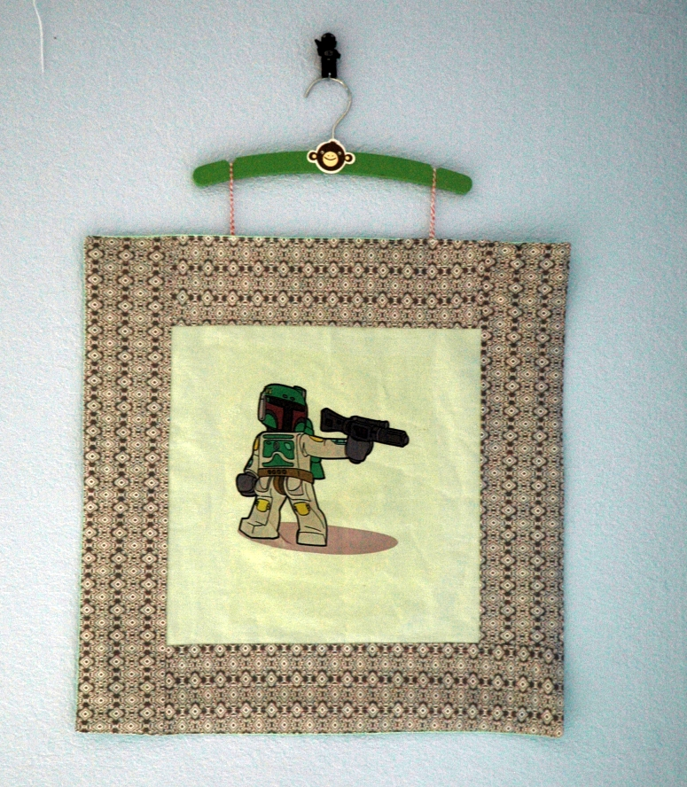 Boba wallhanging