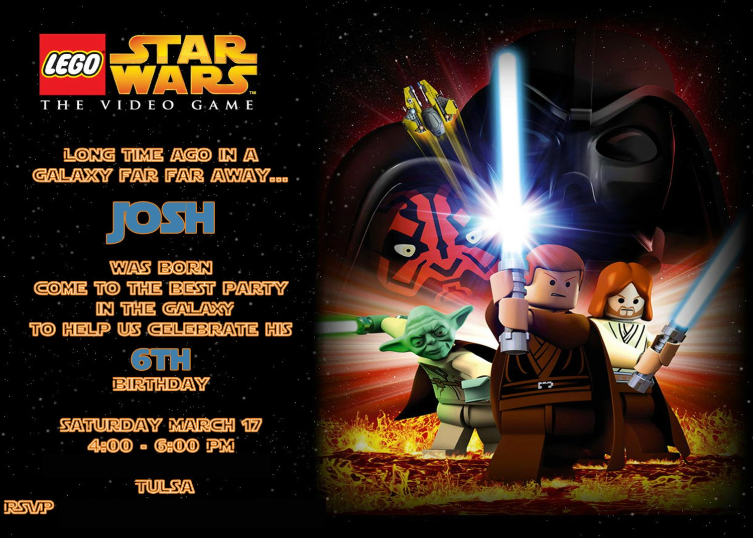 BubbaChic: The Lego Star Wars Party (part one)
