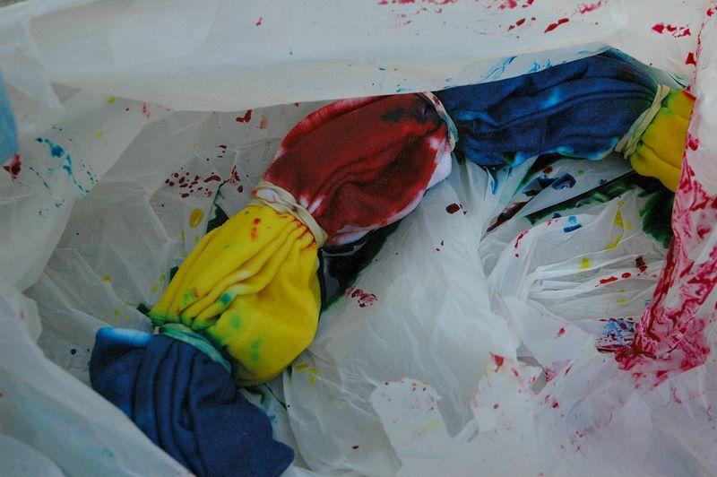 Fold dye