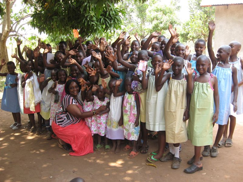 Uganda dresses