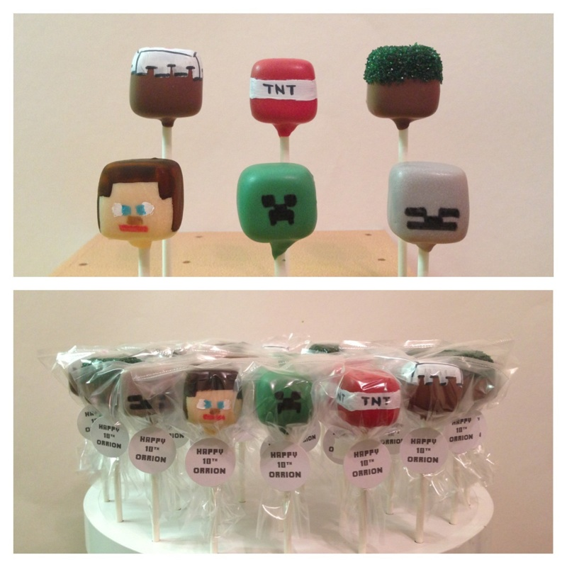 Minecraft-human-tnt-skeleton-cake-pops
