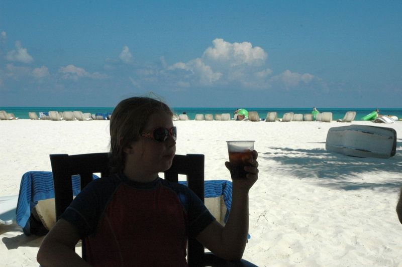 Maddy beach1