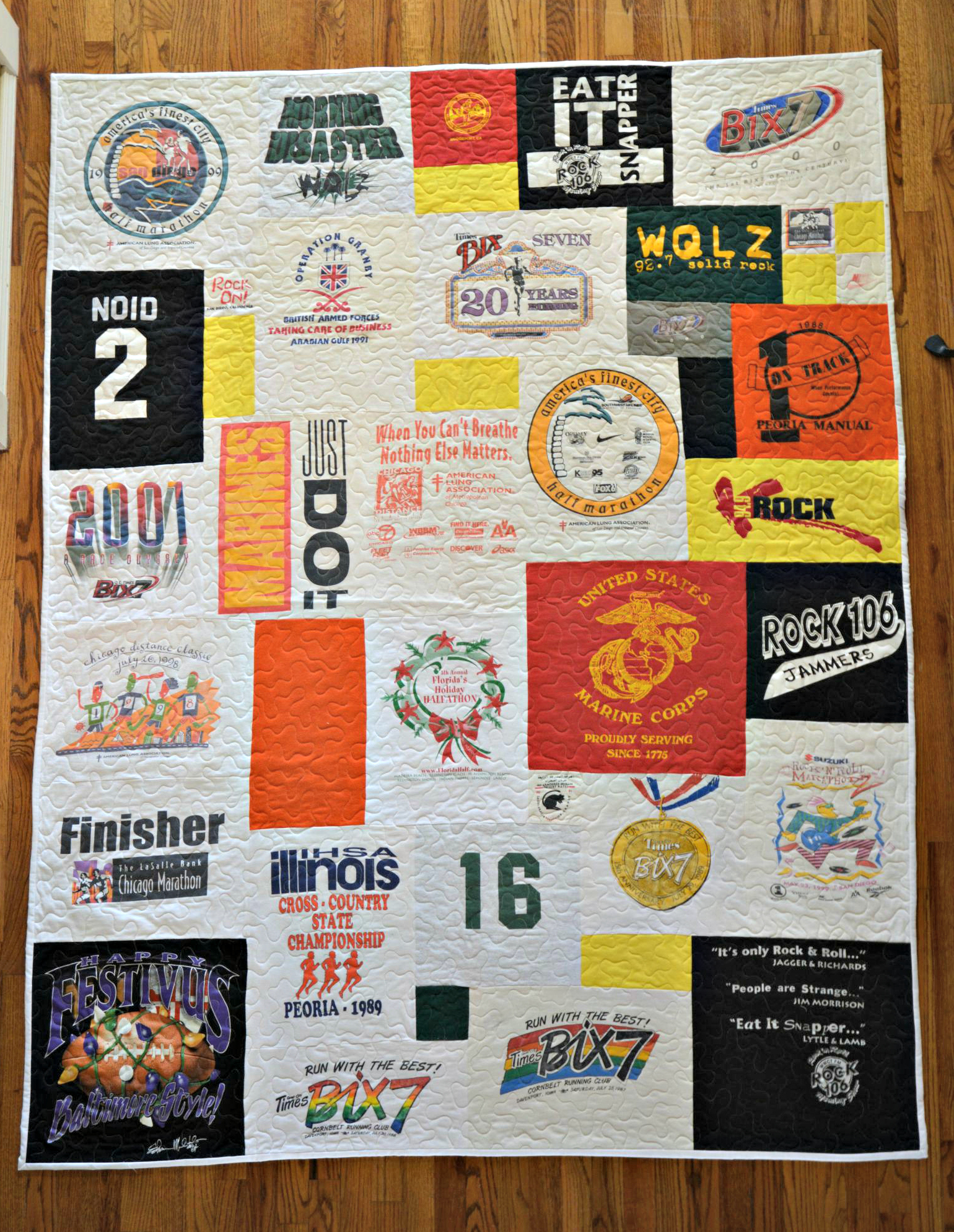 Bubbachic Second Quilt Of The Year T Shirt Quilt