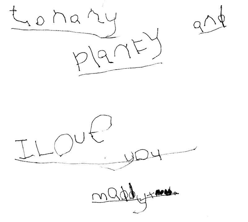 Maddy_writing